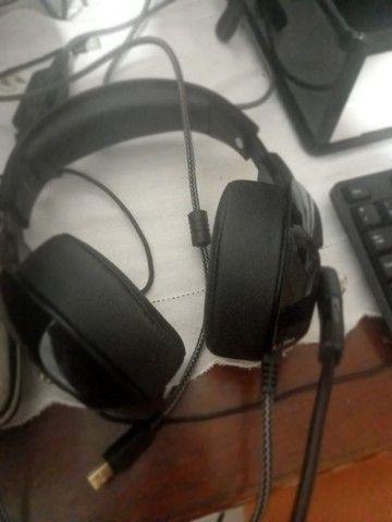 Fone headset com led $100