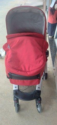 Vendo esse lindo carrinho de bebe - Foto 5