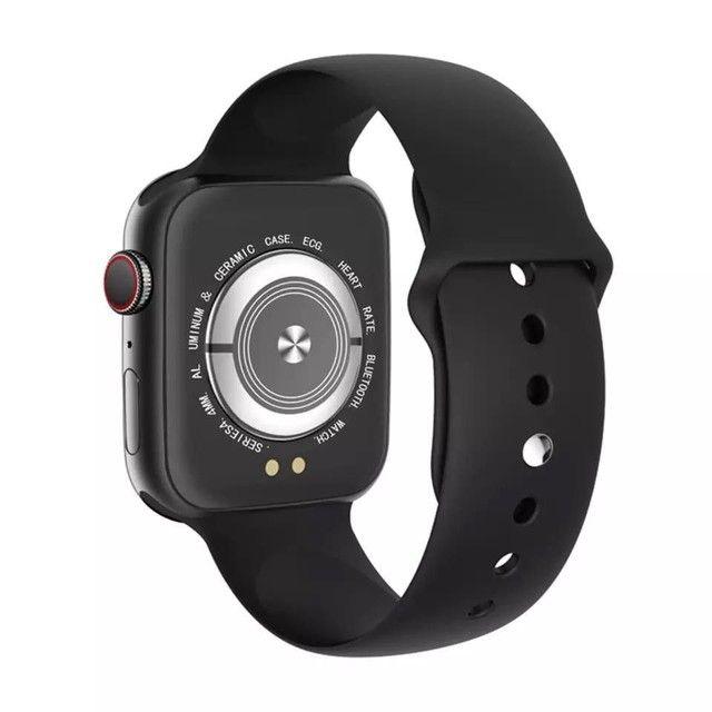 Smartwatch IWO X8 Original Tela Digital Touch 44mm Versão 2021 *Entrega Grátis Fortaleza* - Foto 2