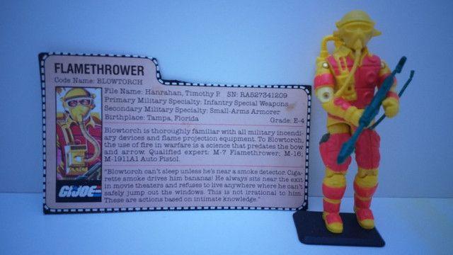 Boneco Blowtorch G.i.Joe/Comandos em Ação/Cobra - Hasbro