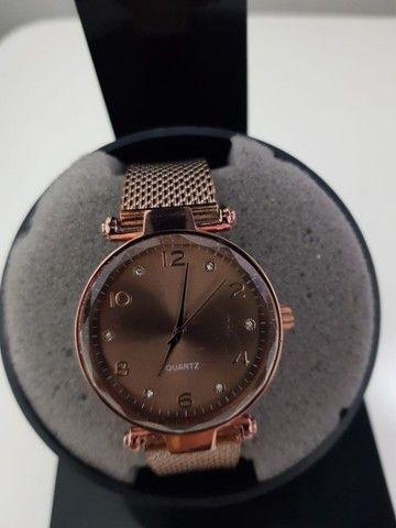 Mega Promoção Relógios Diversas Marcas Compre 1 leve 2. De 160 por 80 - Foto 4