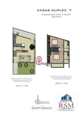 Casa à venda, 70 m² por R$ 210.000,00 - Jardim dos Alfineiros - Juiz de Fora/MG - Foto 2