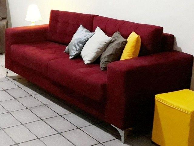 Sofá semi-novo em  Perfeito estado! - Foto 3