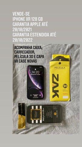 iPhone XR 128gb seminovo garantia até 10/2022 - Foto 4