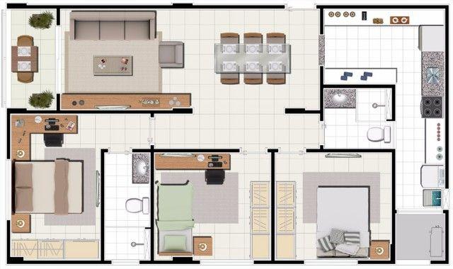 Apartamento com 03 quartos - Conjunto Aruanã  - Foto 19