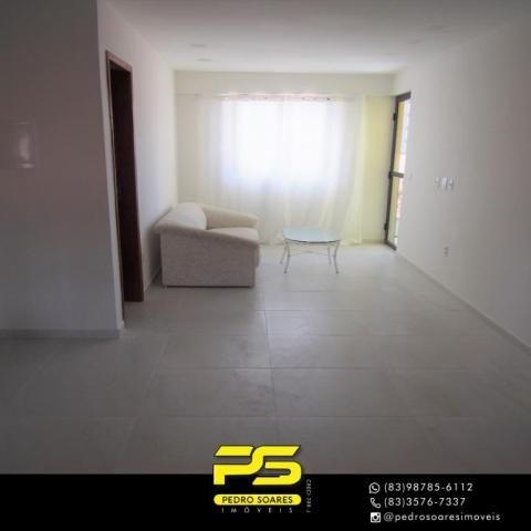 (ALUGO) Apartamento com 2 dormitórios para alugar, 67 m² por R$ 2.100/mês - Cabo Branco -  - Foto 7