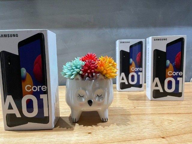 "Smartphone Samsung Galaxy A01 Core Dual Chip Android 10 Tela 5.3"" 32GB Câmera 8MP - Novo - Foto 3"