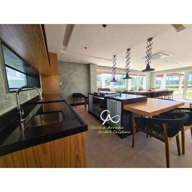 apartamento 4/4 suítes, varanda gourmet, vista livre permanente, Jardins, Aracaju/SE - Foto 16