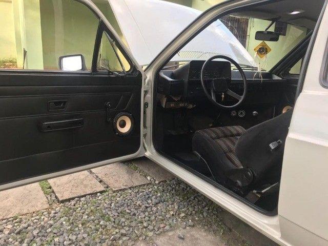 Vendo Gol BX 1985 Dupla carburação turbo - Foto 7