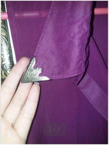 Blusa de botões tamanho G - Foto 2