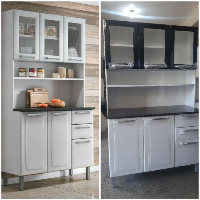Armário de cozinha ferro Itatiaia novo na caixa vários modelos  - Foto 2