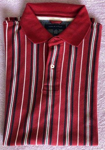 Camiseta Polo Tommy Hilfiger (Produto Novo)