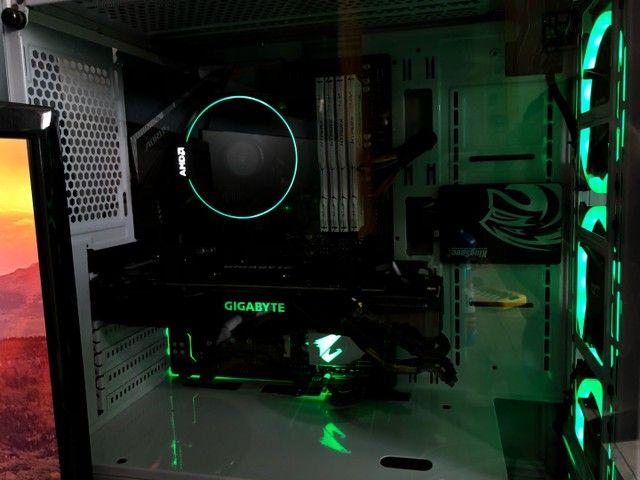 Ryzen 7 2700 + Cooler AMD RGB - Act. Cartão  - Foto 4