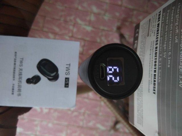 Fone de Ouvido B9 TWS sem Fio com Bluetooth 5 0 / Headset Esportivo / Headset Gamer - Foto 3