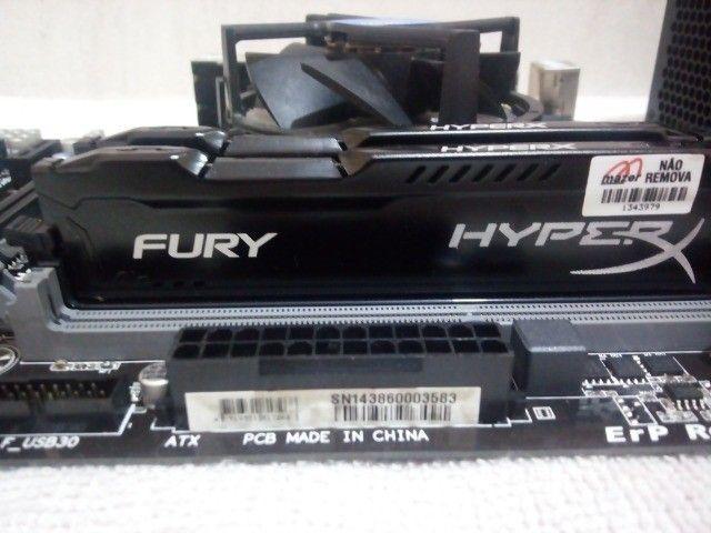 Kit  upgrade Core i5 4570s 2.90 hgz\ 8 gb ddr3  - Foto 2