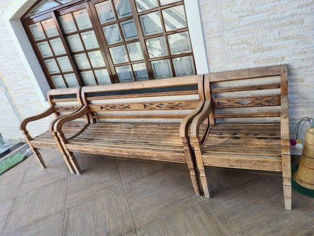 Móveis rústicos para varanda  - Foto 2