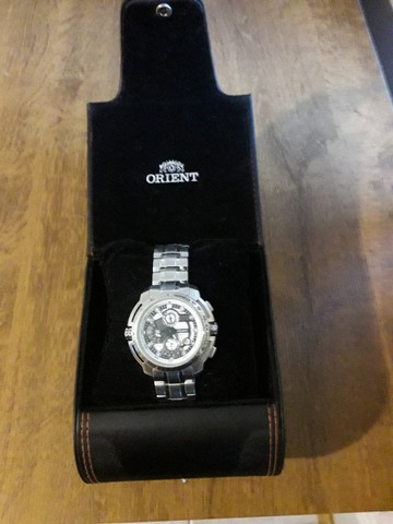 Vendo relógio orient mbssc055 - Foto 2