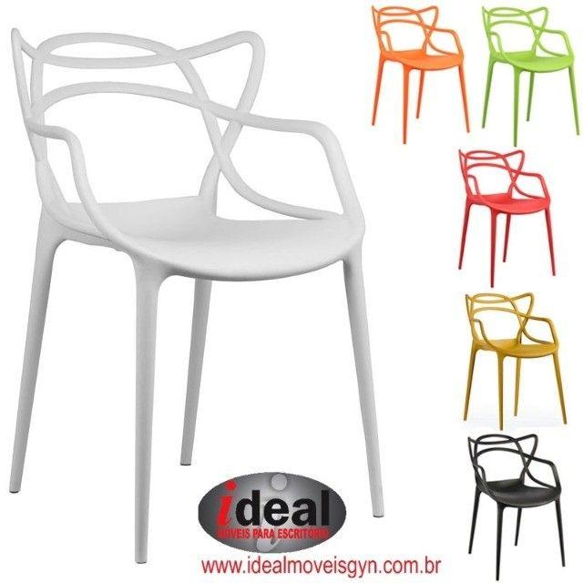 Cadeira  Deccor  Allegra Ideal Móveis Goiânia ? Escritórios - Foto 3