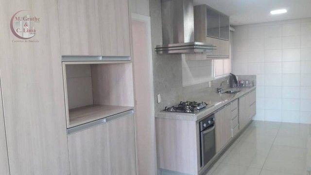 Apartamento com 4 dormitórios para alugar, 245 m² por R$ 6.500,00/mês - Jardim das Colinas - Foto 19