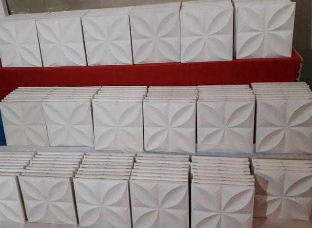 Placas de gesso 3D - Foto 4