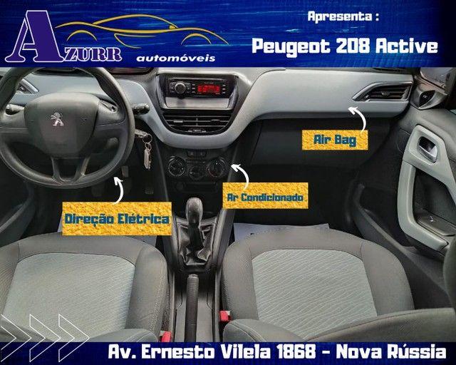 PEUGEOT 208 ACTIV COMPLETO 1.5 FLEX REVISADO GARANTIA BAIXA KM IMPECÁVEL   - Foto 14
