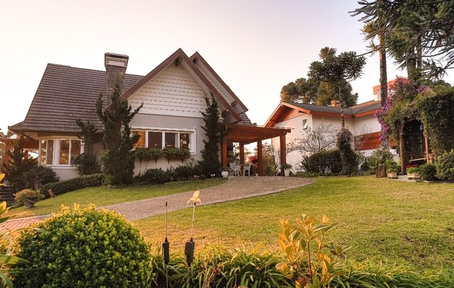 Casa com 5 dormitórios à venda, 400 m² por R$ 4.700.000,00 - Aspen Mountain - Gramado/RS - Foto 3