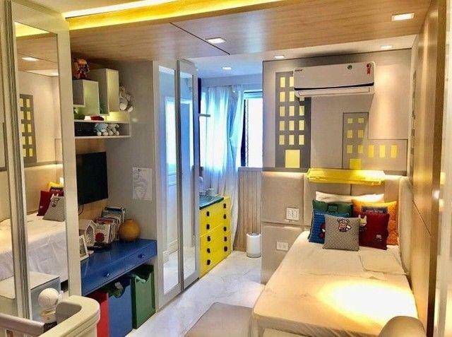 AB345 - Apartamento vista mar/ 03 suítes/ em andar alto - Foto 3