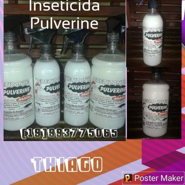 Inseticidas Dedetizante  Pulverine - Foto 5