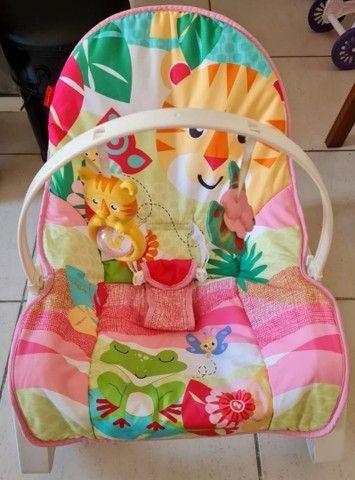 Cadeira de balanço e vibra  da Fisher Price   - Foto 5