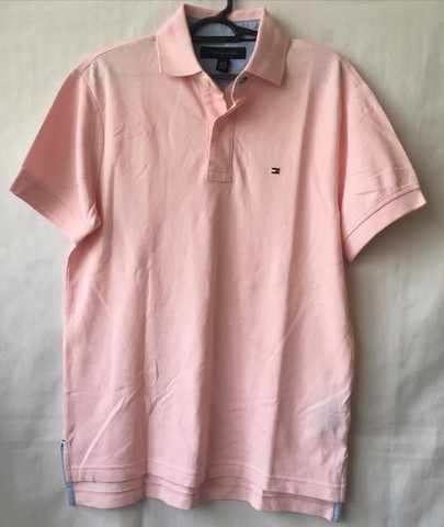 Polo rosa Tommy Hilfiger