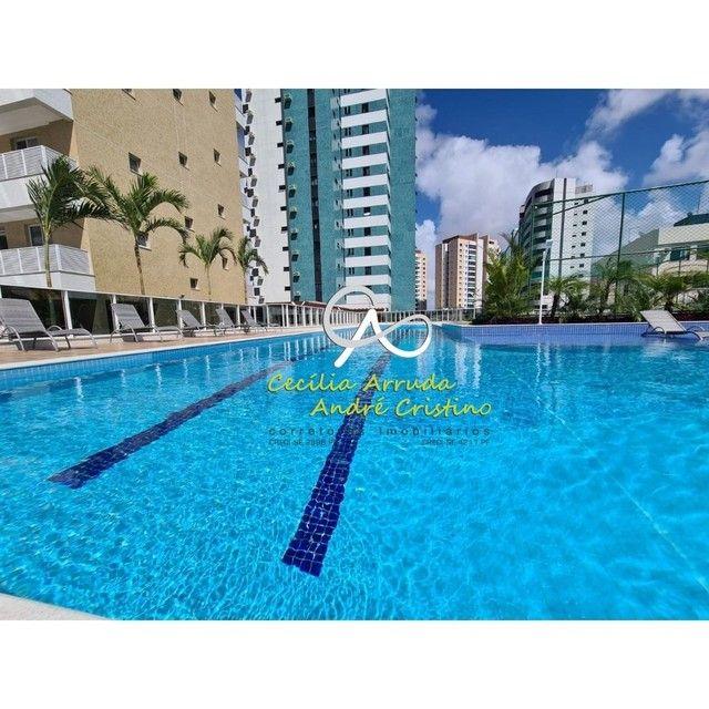 apartamento 4/4 suítes, varanda gourmet, vista livre permanente, Jardins, Aracaju/SE - Foto 12