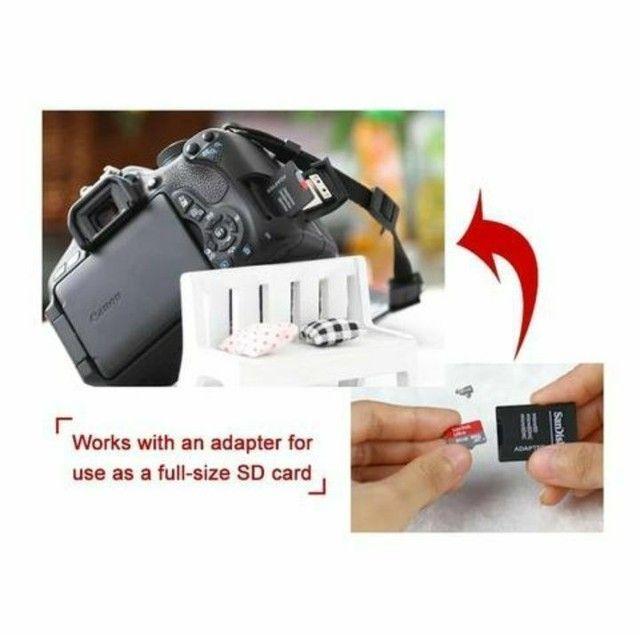 Cartão de memória micro SD SanDisk 32Gb/64gb/128Gb classe 10 Ultra original com adaptador - Foto 5