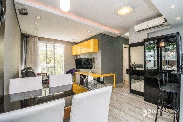 Apartamento à venda com 2 dormitórios em Cristo redentor, Porto alegre cod:YI449 - Foto 2