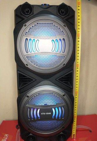 Caixa KTS 1054 Wireless + F. Karaokê (Super Potente 1000w)  Frete Grátis! - Foto 2