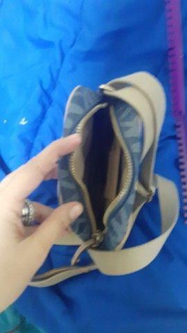 Bolsa MK Azul jeans edição limitada original  - Foto 3