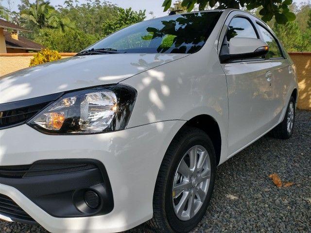 Toyota Etios Sedan X PLUS Aut 2021 Novo   - Foto 3