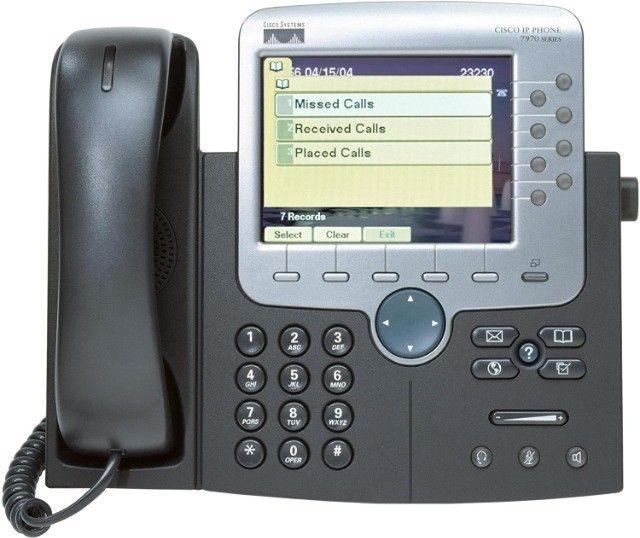 telefone Cisco 7970G Novo - Foto 2