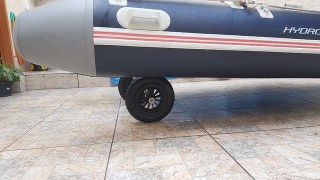Rodinha para bote inflável , Rodas dobráveis para bote - Foto 6