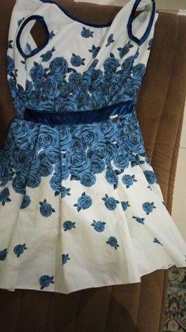 Vestido usado semi-novo