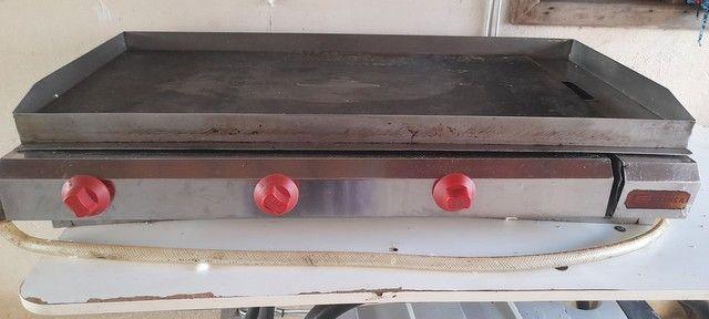 Vendo Chapa e 2 Fritadeiras Elétricas - Foto 3