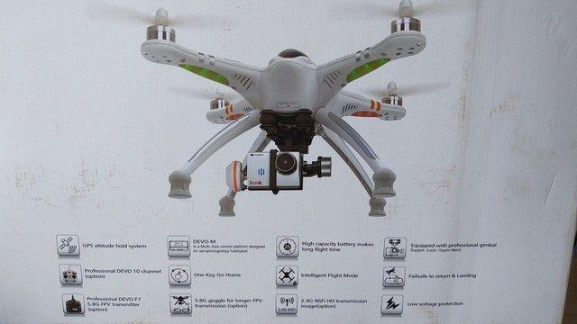 Drone Walkera Qr X350 Pro + Gimbal 2d + 2x Baterias 5200 3s - Foto 4