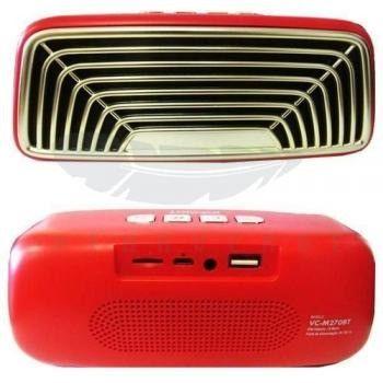 Caixa de som Bluetooth VC-M270BT Vintage Infokit - Foto 3