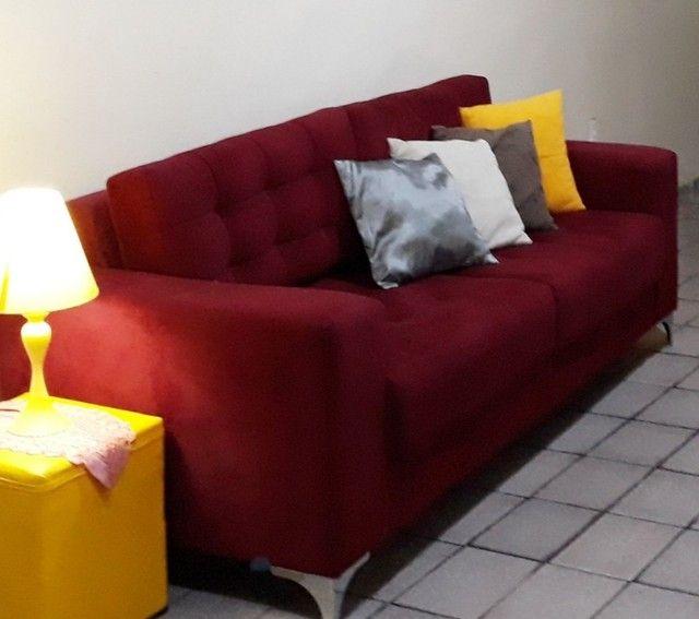 Sofá semi-novo em  Perfeito estado! - Foto 2