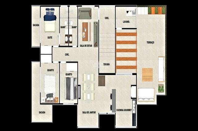 Apartamento à venda com 3 dormitórios em Balneário paese, Itapoá cod:937199 - Foto 14