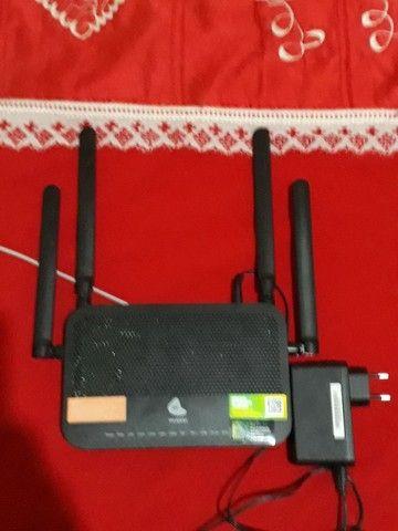 Roteador com 4 antenas da oi - Foto 2