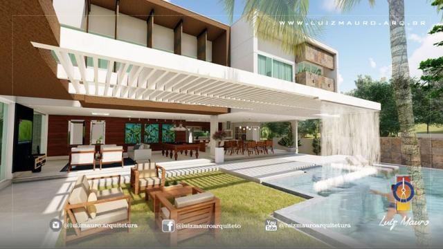 Condomínio Florais dos Lagos, casa Sobrado com 4 suites, em fase de construção - Foto 12