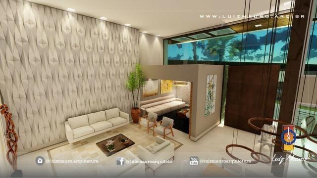 Condomínio Florais dos Lagos, casa Sobrado com 4 suites, em fase de construção - Foto 7