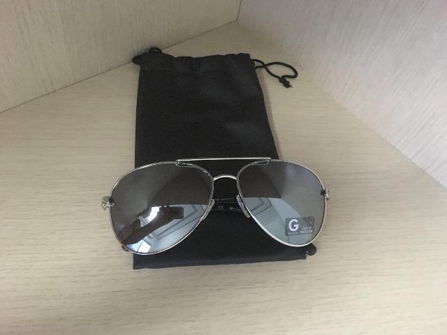 Óculos de Sol Feminino G by Guess Aviador Espelhado - Bijouterias ... df10f3fb66
