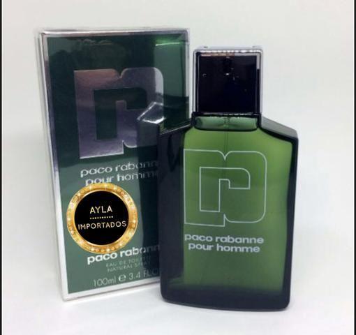 5 x R$: 55,80 Perfume Paco Rabanne Pour Homme 100ml