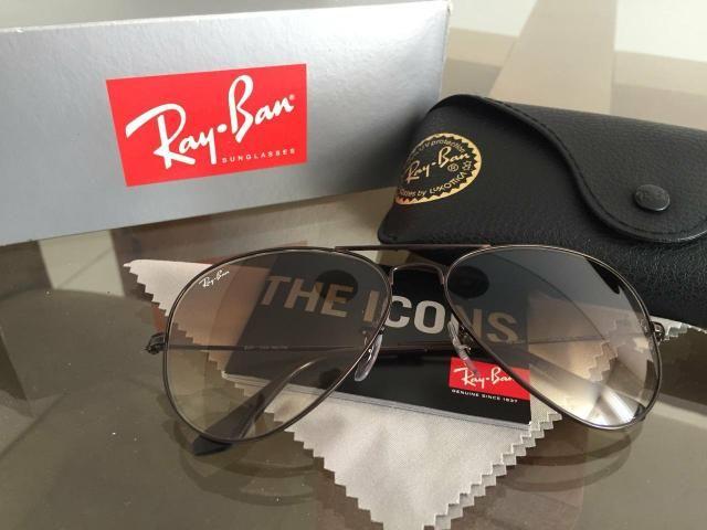 9dd09b9369d45 Óculos Ray Ban Aviador IMPECÁVEL- NOVO - Bijouterias, relógios e ...
